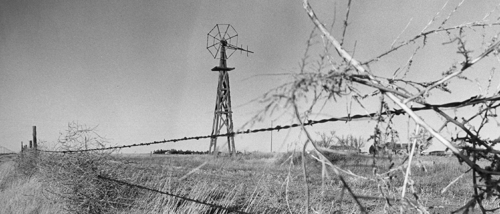 Never before was so much of the world fenced off by barbed wire ...
