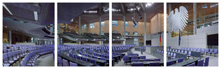 Germany, Deutscher Bundestag. From the series Parliaments of the European Union, by Nico Bick.